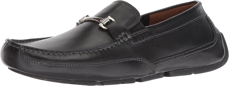 CLARKS Mans Ashmont Brace Loafer, svart läder, läder, läder, 110 M USA  det billigaste