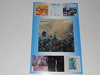 Large Steely Dan Album Cover Poster 1972-1980 Gaucho, Aja, Preztel Logic 19