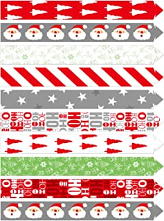 TUPARKA Festive Paper Chains Merry Christmas Craft Paper Chains for Christmas and Festive Party Decorations