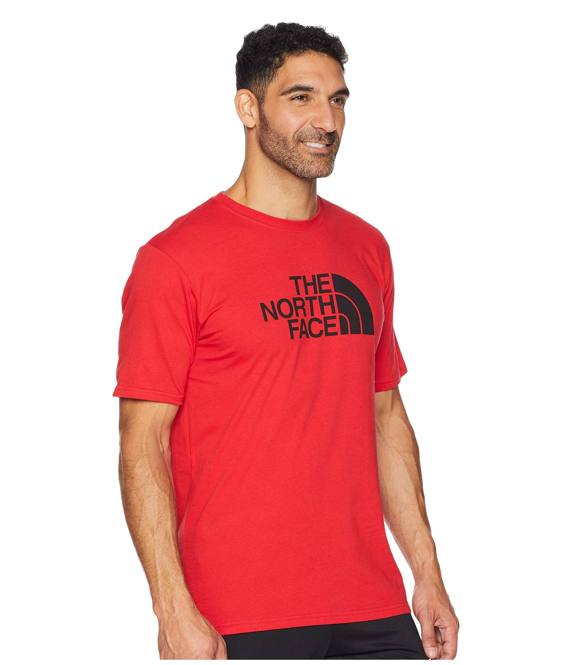 The Tee tnf Tnf 2 Black Sleeve 1 Face Short 1 Dome North Red 0fqAr40