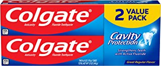 Colgate Cavity Protection Toothpaste with Fluoride - 6 Ounce Twin Pack