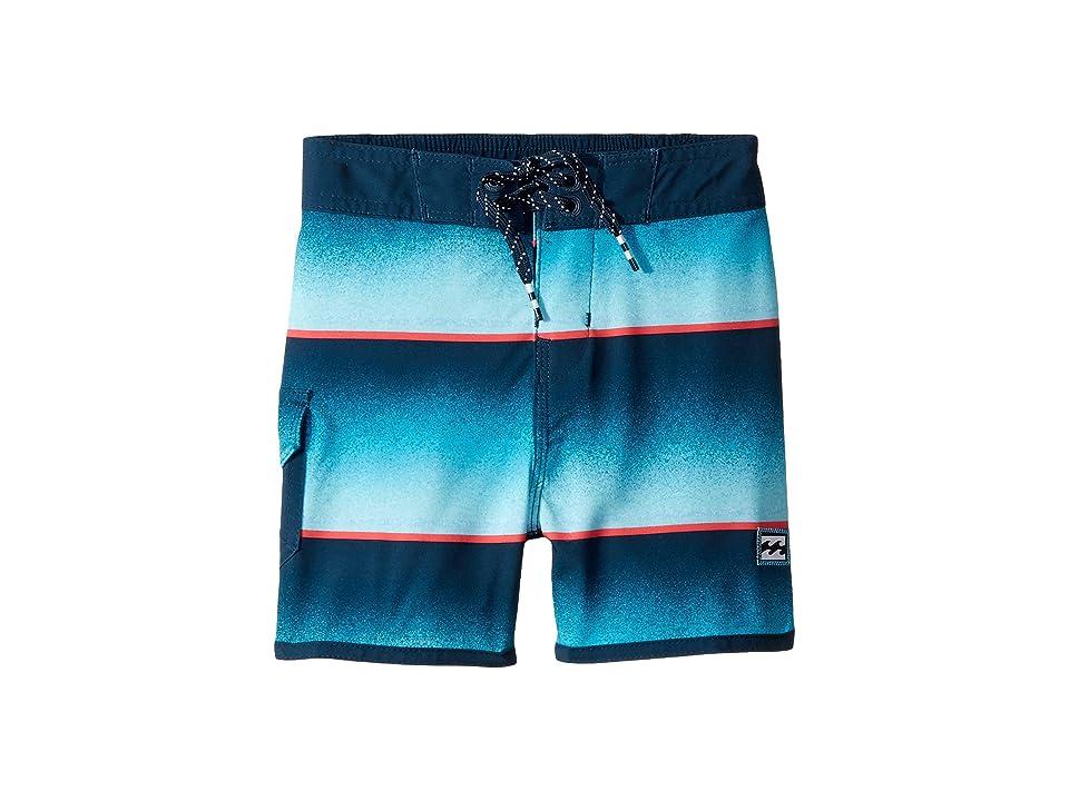 Billabong Kids 73 Light Lineup Boardshorts (Big Kids) (Blue) Boy