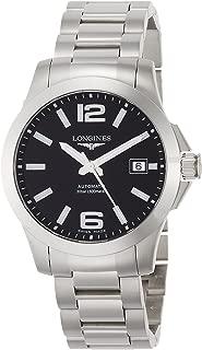 [ロンジン] 腕時計 コンクエスト 自動巻き L3.676.4.58.6 メンズ 正規輸入品 シルバー