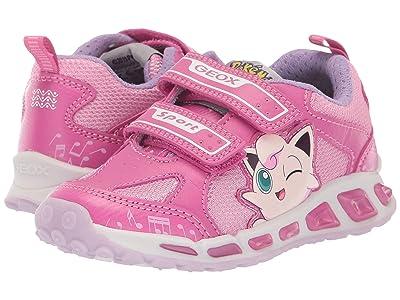 Geox Kids Shuttle 16 Pokemon (Toddler/Little Kid) (Fuchsia/Pink) Girl