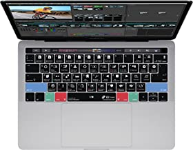 DaVinci Resolve Keyboard Cover for MacBook Pro (Late 2016+) w/ Touch Bar