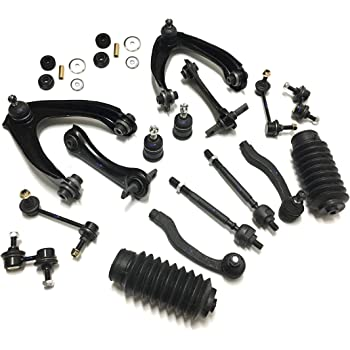 24 Pc Complete Suspension Kit for Honda CR-V 1997-2001 Front /& Rear Control Arms