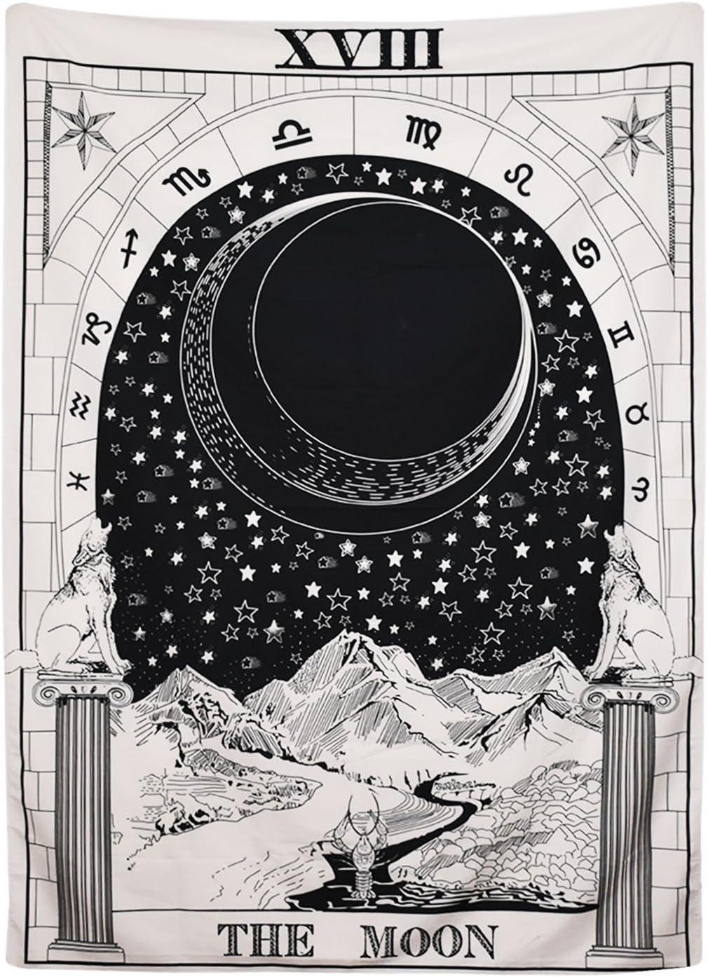 BLEUM CADE Tarot Tapestry The Med Max 54% OFF Moon Bombing free shipping Star Sun
