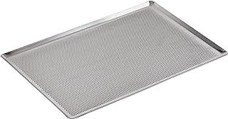 (40cm x 30cm, Aluminum) - Paderno World Cuisine 41756-30 Perforated Aluminium Baking Sheet 45 Degrees