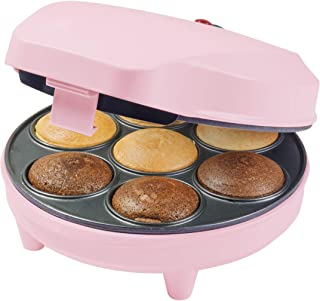 Bestron Cupcake Maker im Retro Design, Sweet Dreams, Antihaf
