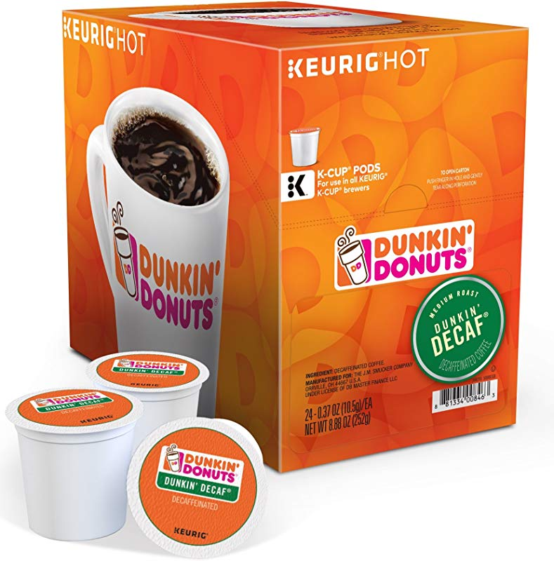 Dunkin Donuts Dunkin Decaf K Cups 24 Count