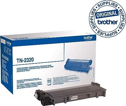 Brother TN2320 - Tóner original de alta capacidad, Negro