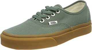 25e090bef41 Vans Off The Wall Authentic Sneakers (Duck Green Gum) Unisex Skate Shoes