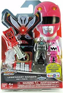 Power Rangers Key Pack Lost Galaxy Pink Red Magna Defender