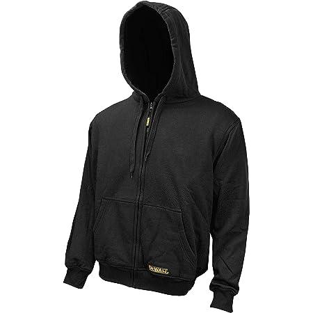 DEWALT DCHJ067B-2XL 20V/12V MAX Bare Hooded Heated Jacket, Black, XX-Large