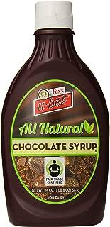 Fox's U-bet Fair-Trade Syrup, All Natural Chocolate, 24 Ounce