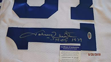 JOHNNY UNITAS (HOF 79) Signed Colts Football Jersey -PSA Authenticated #K10649