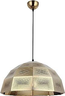 Homemania Lámpara de techo, metal, dorado, negro