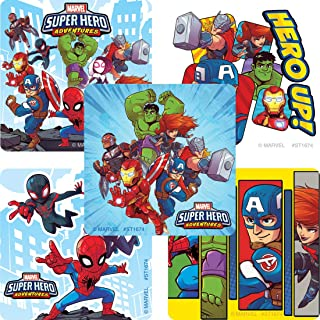 SmileMakers Marvel Super Hero Adventures Sticker - Prizes 100 per Pack