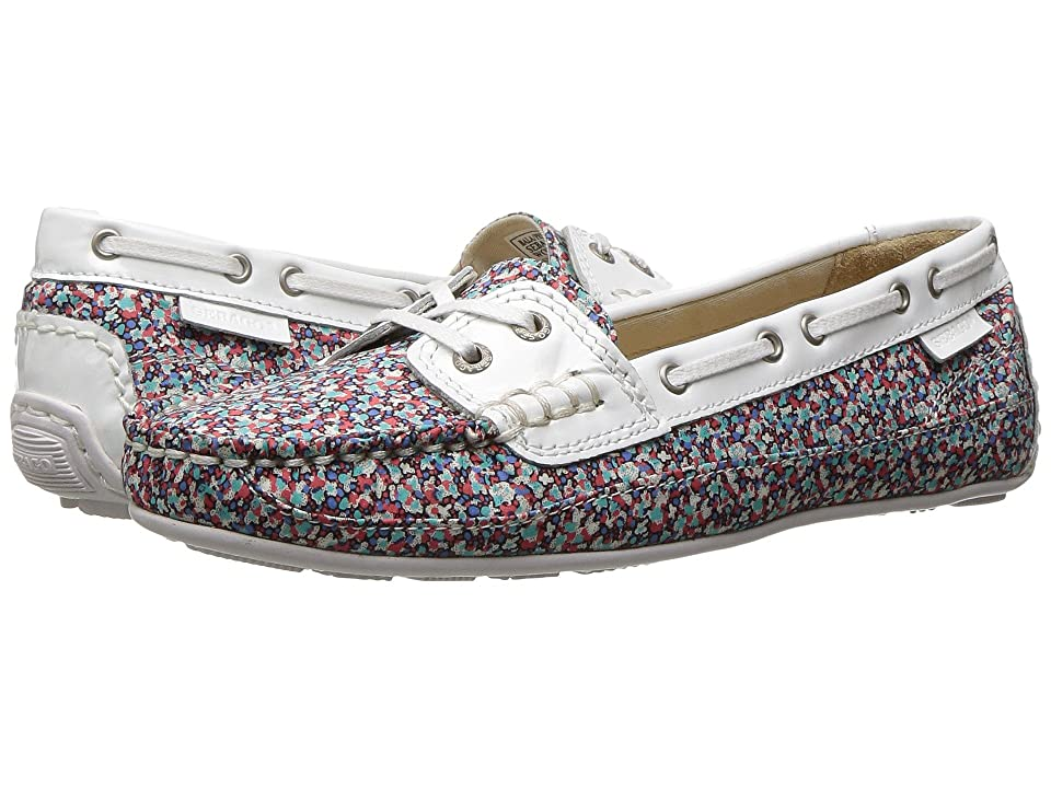 Sebago Bala Liberty (Pepper Print/White Patent) Women