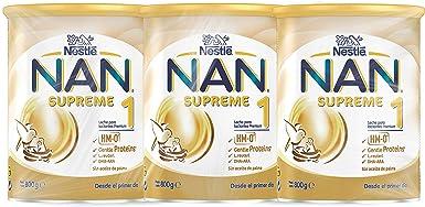 NAN - Supreme 1 Leche Para Lactantes En Polvo Premium, 3