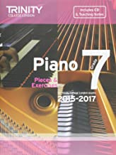 Piano Grade Initial 2015-2017: Pieces & Exercises (Piano Exam Repertoire) (With Free Audio CD) by Trinity College London (1-Jul-2014) Paperback