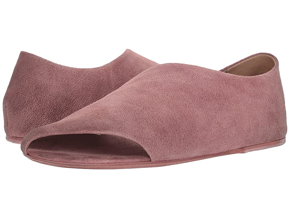 Marsell Open Sided Flat (Rose) Women
