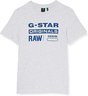G-STAR RAW Graphic 8 Round Neck T-Shirt Homme