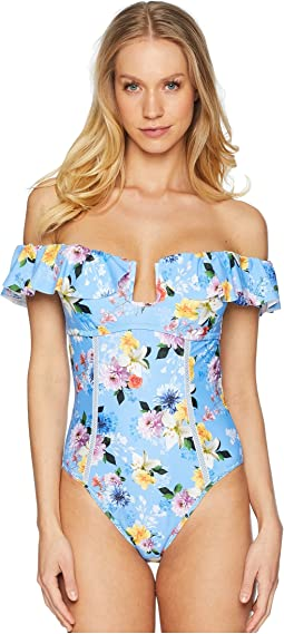 Monaco Bouquet Seductress One-Piece