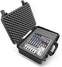 Casematix Waterproof 18 inch Mixer Carrying Case Compatible with Behringer Xenyx X1204usb, 1204usb, Boytone BT-80MX audio ...