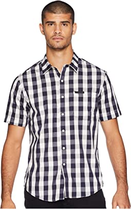 Short Sleeve Checker Shirt