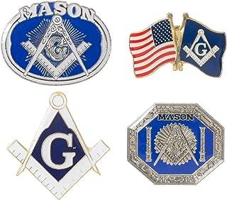 """Mason 2B1ASK1 Lapel Pin 1//4/"""" x 1/"""" New Masonic Pin"""