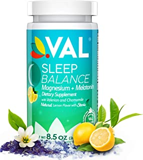New Magnesium, Melatonin, Valerian Root, Chamomile, B6. Sleep Aid & Nighttime Cramp Relief Supplement -Naturally Sourced Ingredients- Supports a Healthy Sleep Cycle, Cramps, RLS, Stevia, Non-GMO