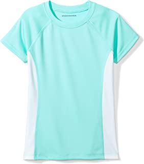 Amazon Essentials Girls' UPF 50 Swim T-Shirt