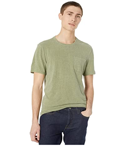 J.Crew Hemp Cotton Twist Jersey Short Sleeve Tee (Hemp Green) Men