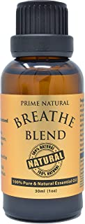Sponsored Ad - Breathe Essential Oil Blend 30ml / 1oz - Natural Pure & Undiluted Best for Aromatherapy & Scents - Sinus Re...