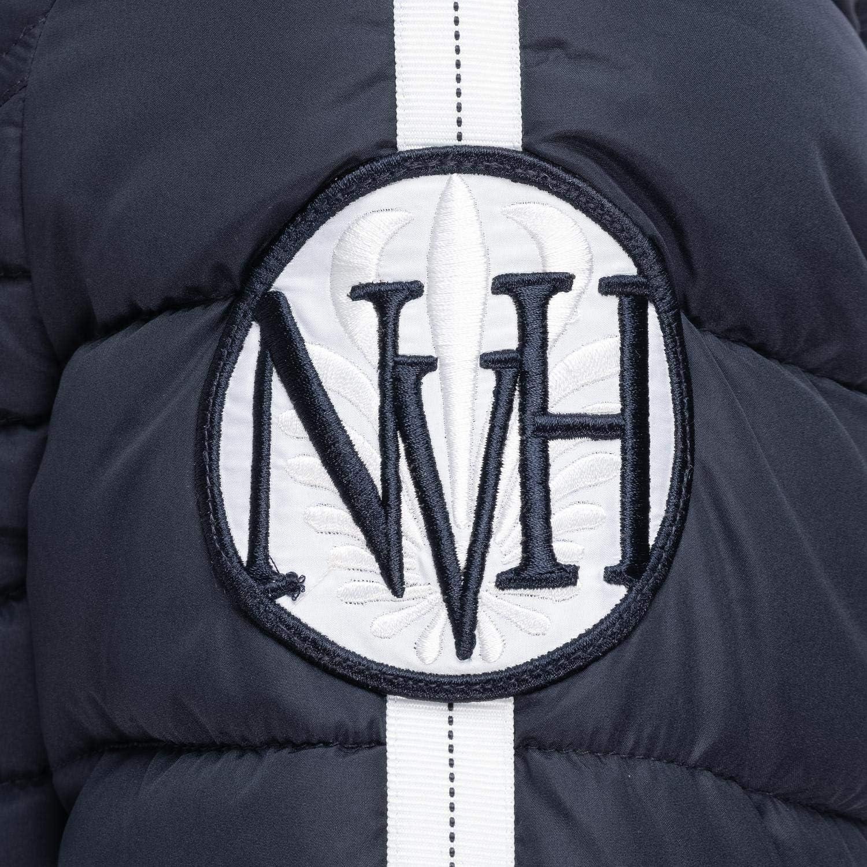 Navahoo Damen Winterjacke Steppjacke mit abnehmbarem Kunstfell Khingaa's XS-XL Blau