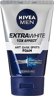 Nivea For Men Extra Whitening Pore Minimiser Facial Foam, 100 Grams