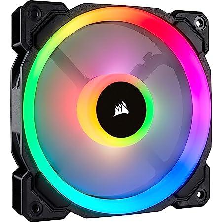 Corsair LL120 RGB, Ventilateur de Boitier Dual Light Loop RGB LED PWM 120mm (Single Pack)