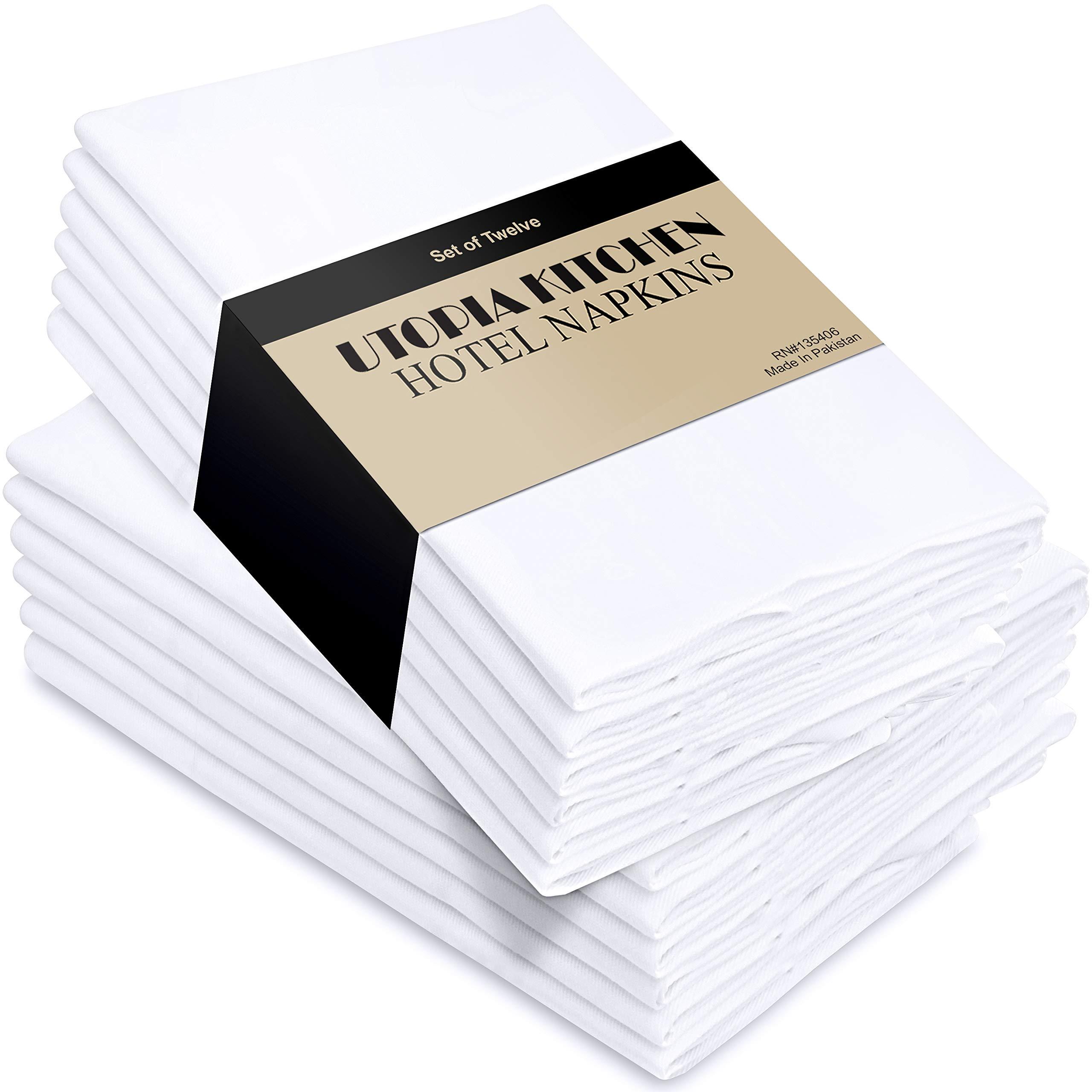 20 Napkins Unicolor White-White Monochrome Party Neutral Uni Color 33x33cm