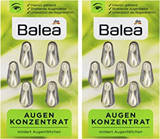 5 packs x 7 pcs I 35 applications I Balea Eye Firming Oil - Eye Concentrate in Capsules with Green Tea Extract, Evening Pr...