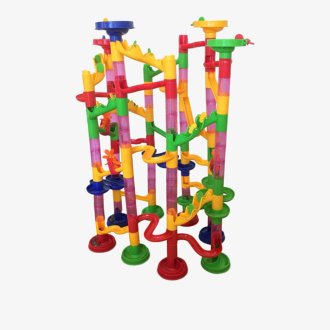 Bloxberry Marble Run deluxe 115 pieces