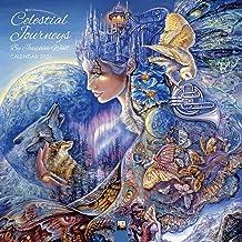 Celestial Journeys by Josephine Wall Wall Calendar 2021 (Art Calendar)