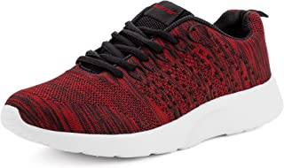 recorrer Sedate Men's Casual Lace-up Red Sports Running Shoes