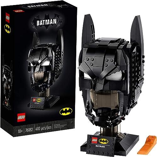 wholesale LEGO DC Batman: discount Batman Cowl 76182 Collectible Cowl Building Kit Batman Model online sale (410 Pieces) online