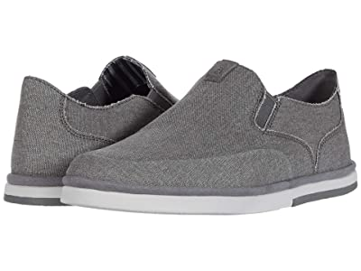 Rockport Austyn Slip-On (Steel Grey Canvas) Men