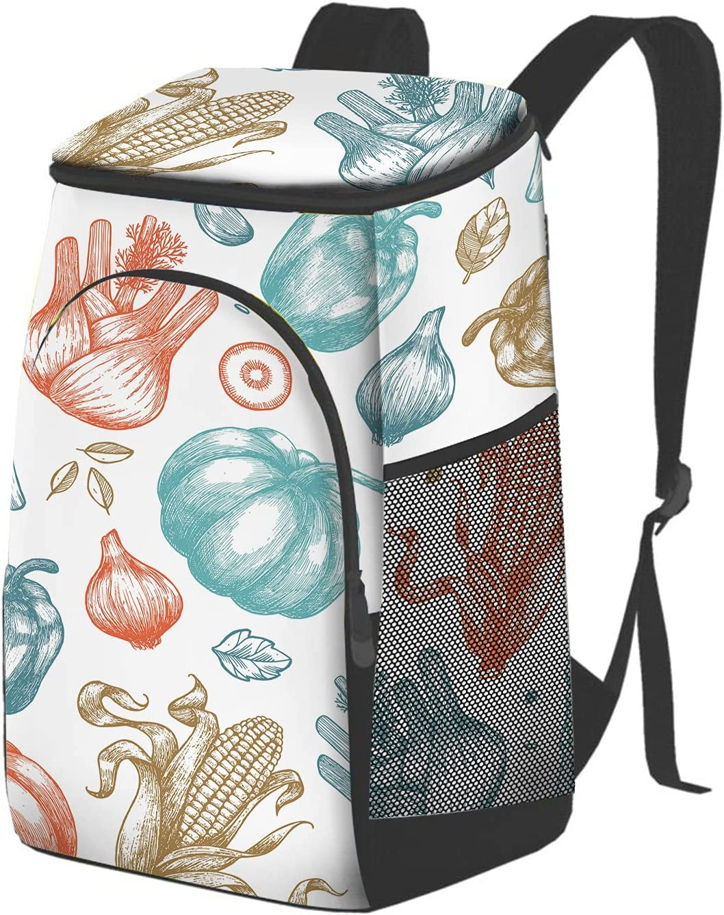 Nicokee Organic Vegetables Lunch Tote Onion Garlic Co Max 84% OFF Sale SALE% OFF Fruit Bags