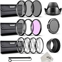 Neewer Filtro de Camára Lente 58mm Completo Kit Accesorios para CANON EOS REBEL 700D 650D 600D 550D 500D 450D 400D 350D 100D (T5i T4i T3i T2i T1i XSi XTi XT SL1)