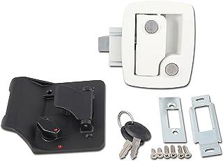 AP Producten (013-534) Wit Trailer Lock met Sleutel