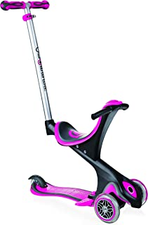Globber Complete Scooter 5 Evo Comfort Scooter Deep Pink Freestyle Trick Stunt Push Complete Scooter - Scooters - Kids Scooters