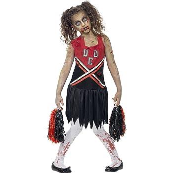 SmiffyS 43023L Disfraz De Animadora Zombi Con Vestido Con Manchas ...
